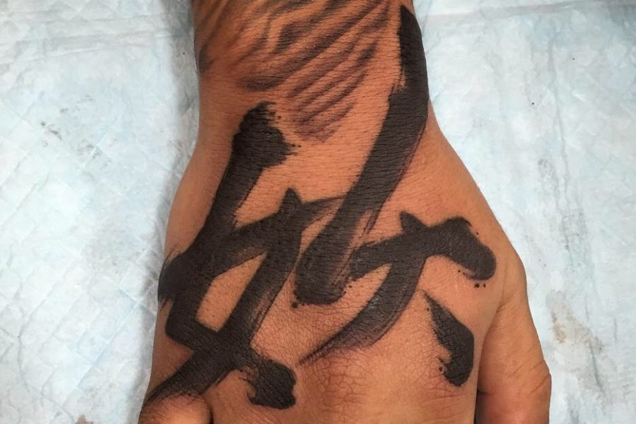 Getting a kanji (Japanese calligraphy) tattoo in Japan